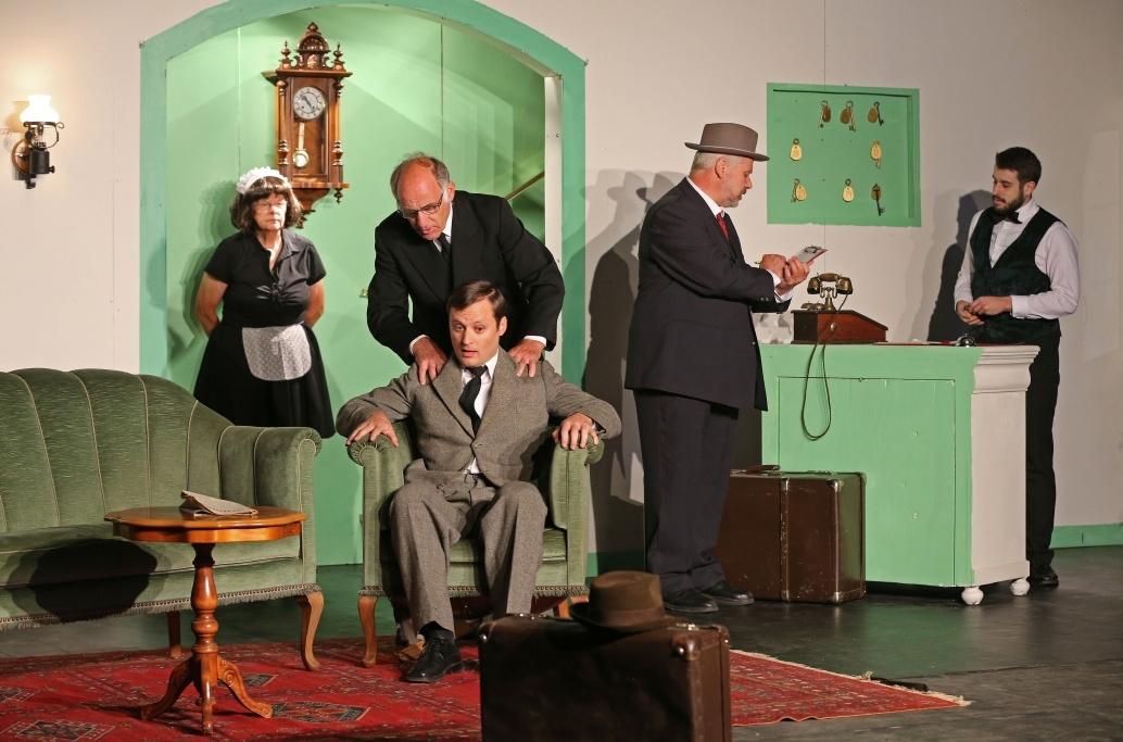 2015 Drei Männer Im Schnee Theatergruppe Signau